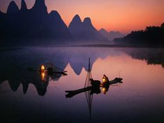 Guangxi Yangshuo, in Southern China. Bamboo river tours to see the peaceful side of the country Guilin, Beijing, Shanghai, China Travel, New Travel, Travel Goals, China Trip, Virtual Travel, Travel Box