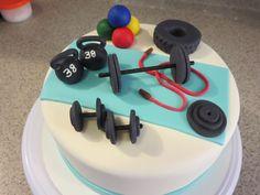 Cross fit cake