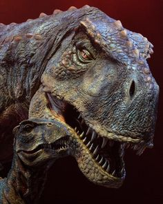 Walking With Dinosaurs - Tyrannosaurus Rex and her offspring Dinosaur Fossils, Dinosaur Art, Dinosaur Toys, Dinosaur Images, Dinosaur Pictures, Jurassic World Dinosaurs, Jurassic Park World, Reptiles, Mammals