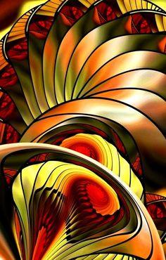 Fractal and so cool! Fractal Geometry, Sacred Geometry, Fractal Images, Fractal Art, Kaleidoscope Art, Fractal Design, Psychedelic Art, Op Art, Art Forms