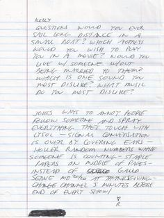 letter written by richard ramirez
