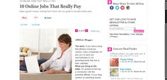 Online Jobs: Affiliate Blogger | 10 Online Jobs That Really Pay | AllYou.com