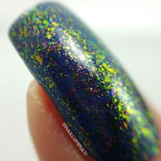 Baby Boom Galaxy - 10 ml handmade nail polish #indiepolish #indienailpolish #polishalcoholic #indie #buyindie #nailpolish #uccflakies #flakies #flakiepolish