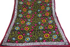 Embroidered Deco Craft Indiab Women Chunni by VintageHaat on Etsy