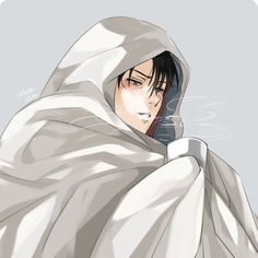 Levi Attack On Titan/ my friends call me Levi because I'm 1 inch shorter then him and because I can be like him