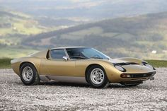 Conceived in secret by Lamborghini's engineering team, the Miura turned the automotive world on its head when it debuted in The first mid-engine supercar, the Miura put Lamborghini on the world stage, invented the Lamborghini Miura, Bugatti, Maserati, Transporter T3, Most Expensive Car, Limited Slip Differential, Collector Cars, Exotic Cars, Vintage Cars