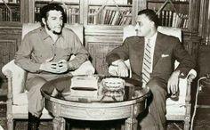 الزعيم جمال عبد الناصر وجيفارا