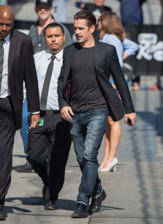 Colin Farrell Photos - Colin Farrell is seen at the 'Jimmy Kimmel Live' show. - Colin Farrell at 'Jimmy Kimmel Live'