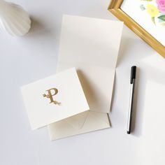 Personalized monogrammed stationery boxed sets are such a thoughtful gift for INFJs since they love writing and receiving handwritten notes!