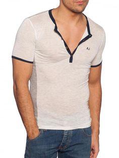 Armani Jeans #camiseta #hombre #gris