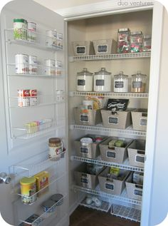 Organizing: The Pantry