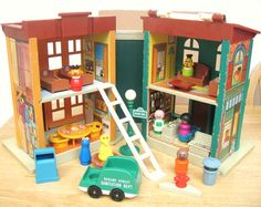 Fisher Price Sesame Street Townhouse