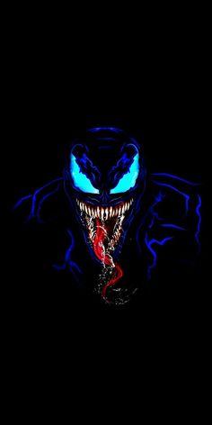 Venom in Dark iPhone Wallpaper - Marvel - Venom Comics, Marvel Venom, Marvel Art, Marvel Heroes, Marvel Avengers, Marvel Comics, Cool Venom Wallpapers, Venom Pictures, Ps Wallpaper