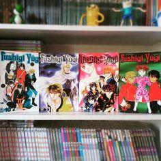 Estas são as capas dos volumes 10, 11, 12 e 13 da edição nacional. Quanto a resenha estou tendo um trabalhão pois quanto mais eu gosto da obra mais sou chato pra falar dela.  Fushigi Yûgi é um mangá shoujo da manga-ká Yuu Watase e daqui a pouco postarei a resenha no meu blog (link no perfil). #fushigiyugi #fushigiyuugi #yuuwatase #editoraconrad #shoujo #mangashoujo #manga #likeforlike #tagforlike #instabook #geek #otaku