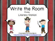 Write the Room - Pirates - FREEBIE - check out description for another free item from my store! :)