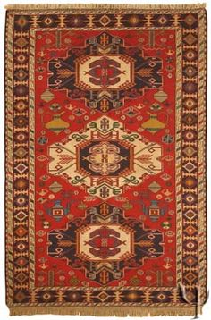 Caucasian Rug - Soumak Kilim >> Gorgeous rug!