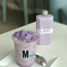 Image about aesthetic in + lilac + by � on We Heart It Korean Aesthetic, Aesthetic Colors, Aesthetic Food, White Aesthetic, Soft Purple, Lilac, Purple Colors, Colours, Periwinkle