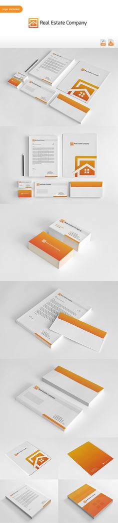 Real Estate Corporate Identity by Arslan Ali