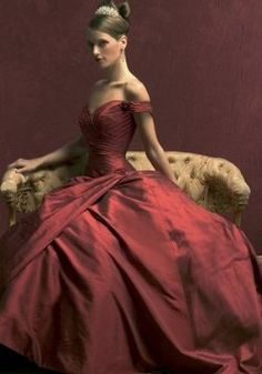 In many parts of the world, a red wedding gown is the traditional color of choice by brides. A white wedding gown in Asian and some European countries was considered to bring bad luck.    In Asian countries, the color red symbolizes luck, happiness and prosperity. In European cultures, the color red is a symbol for love, lust, passion, and power.