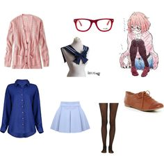 This outfit is based on one of my favorite characters in anime Mirai Kuriyama from Kyoukai no Kanata (Beyond the Boundary)