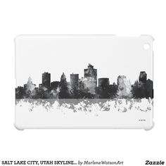 SALT LAKE CITY, UTAH SKYLINE - iPad Mini Case