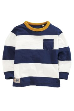 Buy Two Pack Stripe Long Sleeve Tops (3mths-6yrs) from the Next UK online shop