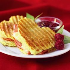 Grilled Monte Cristo for your Valentine- Fire up the panini press!