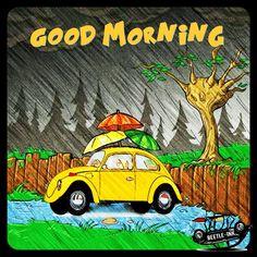 Vw Super Beetle, Beetle Bug, Good Morning, Volkswagen, Ink, Beetles, Illustration, Bugs, Poster