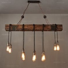Rustic Farmhouse Furniture Wood Beam Chandelier Pendant Lighting Fixture Kitchen Dining Room Bar Hotel Industrial Bulbs not Included) Chandelier Lighting Fixtures, Rustic Pendant Lighting, Wood Pendant Light, Industrial Pendant Lights, Kitchen Lighting Fixtures, Rustic Chandelier, Chandelier Pendant Lights, Pendant Light Fixtures, Vintage Lighting