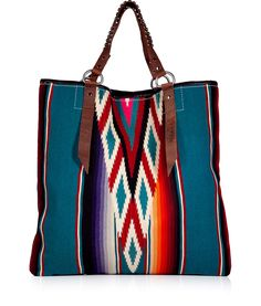 Shop for Clouded Sky Ikat Large Serape Tote by Totem at ShopStyle. Now for Sold Out. Fashion Mode, Fashion Bags, Fashion Accessories, Big Purses, Purses And Bags, Diy Mode, Boho Bags, Festival Style, Shopper