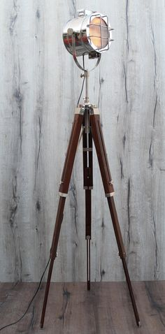 French High Neck Corner Living Room Tripod Floor by TheDezinez