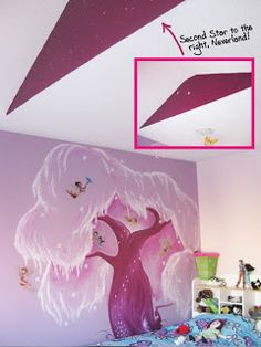 Pixie Hollow in purple with second star