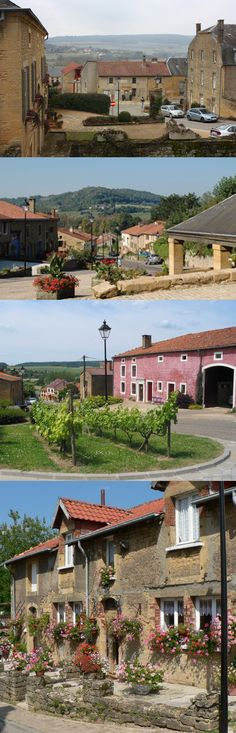 Torgny, meest zuidelijke dorp van België (Torgny, the most southern village in Belgium)