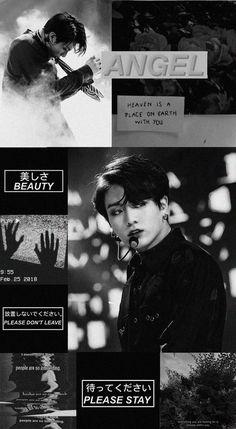 Foto Jungkook, Jungkook Cute, Bts Jimin, Bts Aesthetic Wallpaper For Phone, Black Aesthetic Wallpaper, Dark Wallpaper, Bts Wallpaper, Bts Backgrounds, White Backgrounds