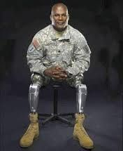 "Colonel Gregory D Gadson U.S Army - On the night of May 7, 2007, while returning from a memorial service for two soldiers from his brigade, he lost both his legs and severely injured his right arm, to a roadside bomb in Baghdad. He became one of the first military personnel to use a next-generation powered prosthetic knee with technology to make it possible for amputees to walk with confidence and with a more natural gait. ""HOOAH"""