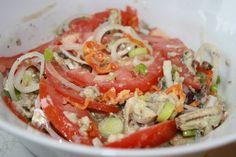 Sardine n tomatoes...