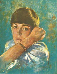 Paul McCartney By Leo Johnson Beatles Fan Art