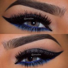 dark blue look