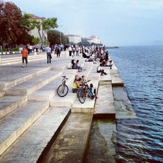 Morske Orgulje | Sea Organ in Croatia. Music made by the Sea! Must Visit for any Musiclover!