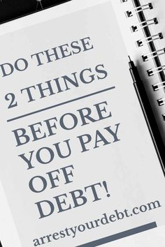 Dont pay down any of your debt until you have done these two things! - Mortgage Payoff - Paying off mortgage Tips - Dont pay down any of your debt until you have done these two things! Becoming debt free Financial Stress, Financial Peace, Financial Planning, Financial News, Financial Goals, Mortgage Amortization, Pay Off Mortgage Early, Debt Free Living, Debt Free