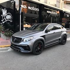 Instagram media by pieromsmotors - Mercedes GLE63 S AMG TopCar  Tag a friend you'd take for a ride with this beast! Customized by @msmotors & @pieromsmotors  #msmotors #mercedes #gle63 #amg #63amg #gle #glecoupe #gle63amg