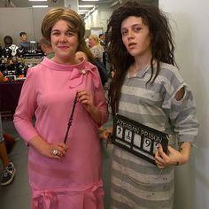 Dolores Umbridge and Bellatrix Lestrange costumes