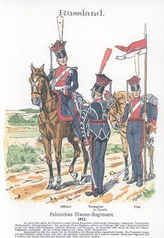 Vol 18 - Pl 33 - Rußland. Polnisches Ulanen-Regiment 1812.