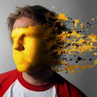 How to Mold Paint Splatter to a Face in Photoshop