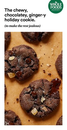 Your newest go-to cookie recipe - and off select baking essentials - for Prime members? Happy holidays indeed! Vegan Desserts, Just Desserts, Delicious Desserts, Dessert Recipes, Yummy Food, Holiday Baking, Christmas Baking, Sweet Recipes, Whole Food Recipes