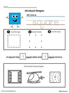 All About Rectangle Shapes  Shapes worksheets Printable