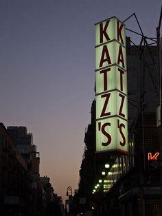 Katz's Deli #NYC