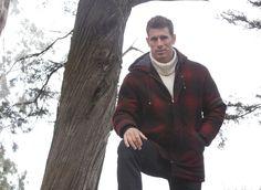 Lee Pappas for Golden Bear Sportswear (Fall 2012) #LeePappas #malemodel #model #StarsModels #StarsModelMgmt #GoldenBear #GoldenBearSportswear #jacket
