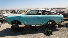 junkyard find 1977 toyota corolla two door sedan https link crwd rh pinterest com