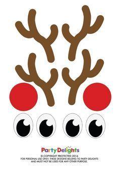 reindeer antlers template free printable reindeer antlers christmas